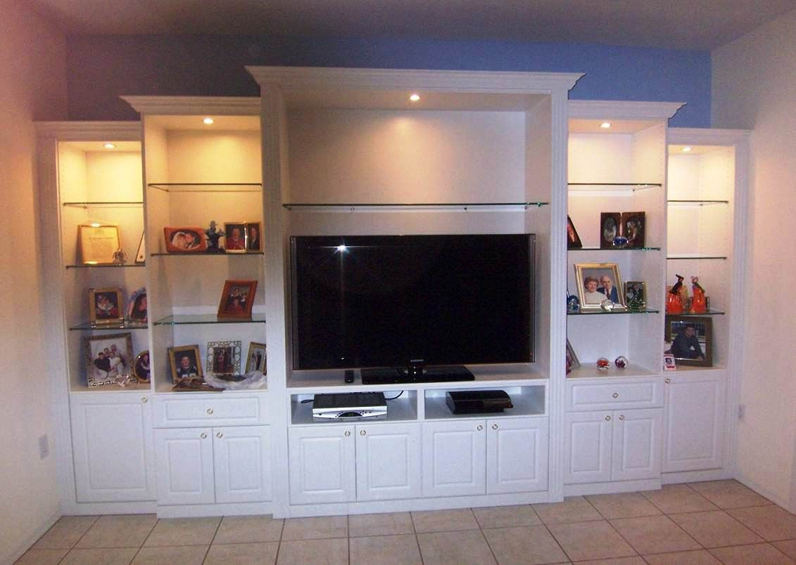 Media Center By Closet Tec Of Sarasota, FL.