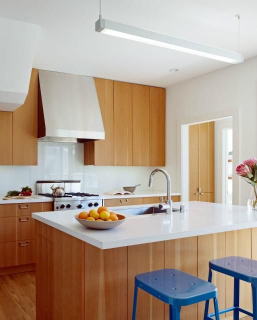Fir and white | Kitchen cabinets light wood, Kitchen ... on Light Maple Cabinets With White Countertops  id=11904