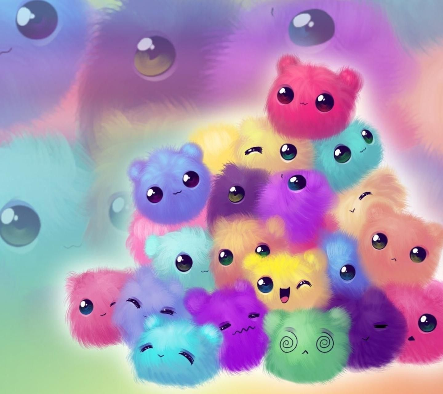 Download Cute Pompoms Animals Wallpaper By Ashra Exe 59 Free On Zedge Now Browse Millions O Kawaii Wallpaper Cute Girl Wallpaper Cute Wallpaper For Phone