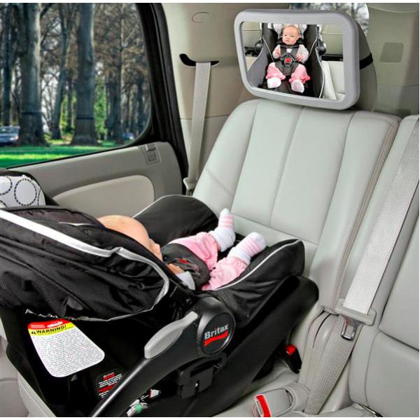 No pierdas de vista a tu bebé: espejos retrovisores para sillas a contramarcha