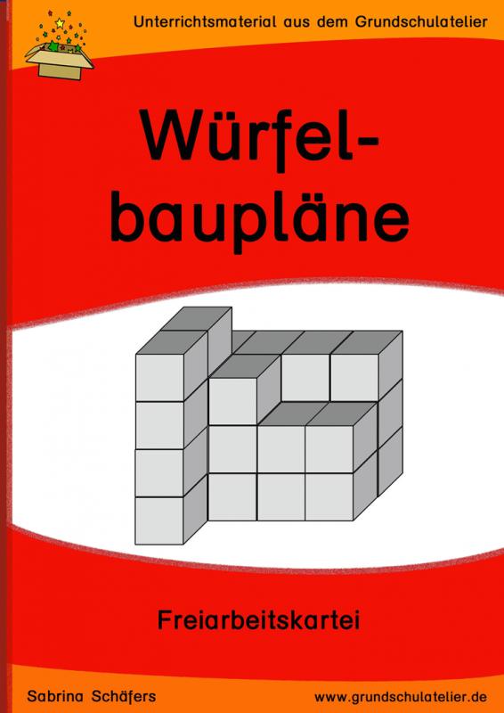 Würfel-Baupläne | Pinterest | Math and School