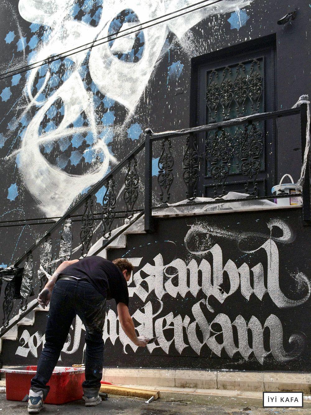 Graffiti wall amsterdam - Calligraphy Graffiti Shoe Istanbul Amsterdam