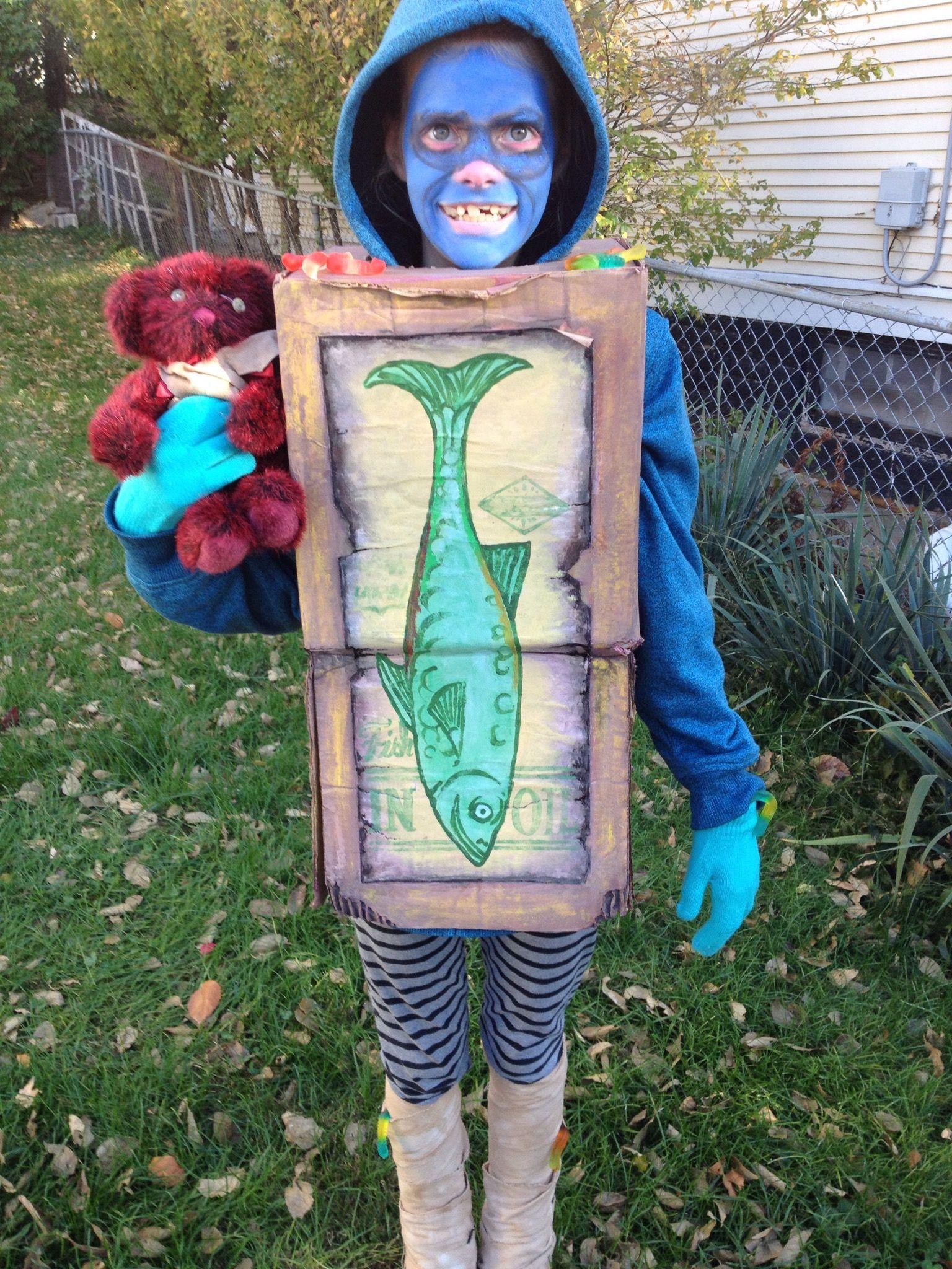 Fish the Boxtroll Costume | Movies box and Paper mache