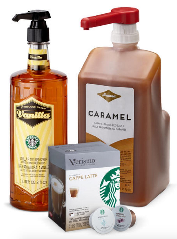 Verismo® Caramel Macchiato Kit