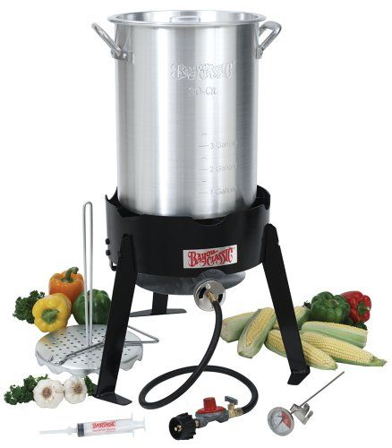 Bayou Classic 3066a 30 Quart Outdoor Turkey Fryer Kit Click Image To Review More Details Recipes Turkey Fryer Bayou Classic Best Turkey Fryer