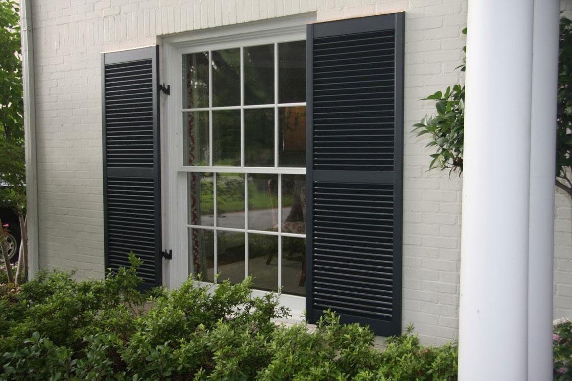 Decorative Window Shutters Exterior