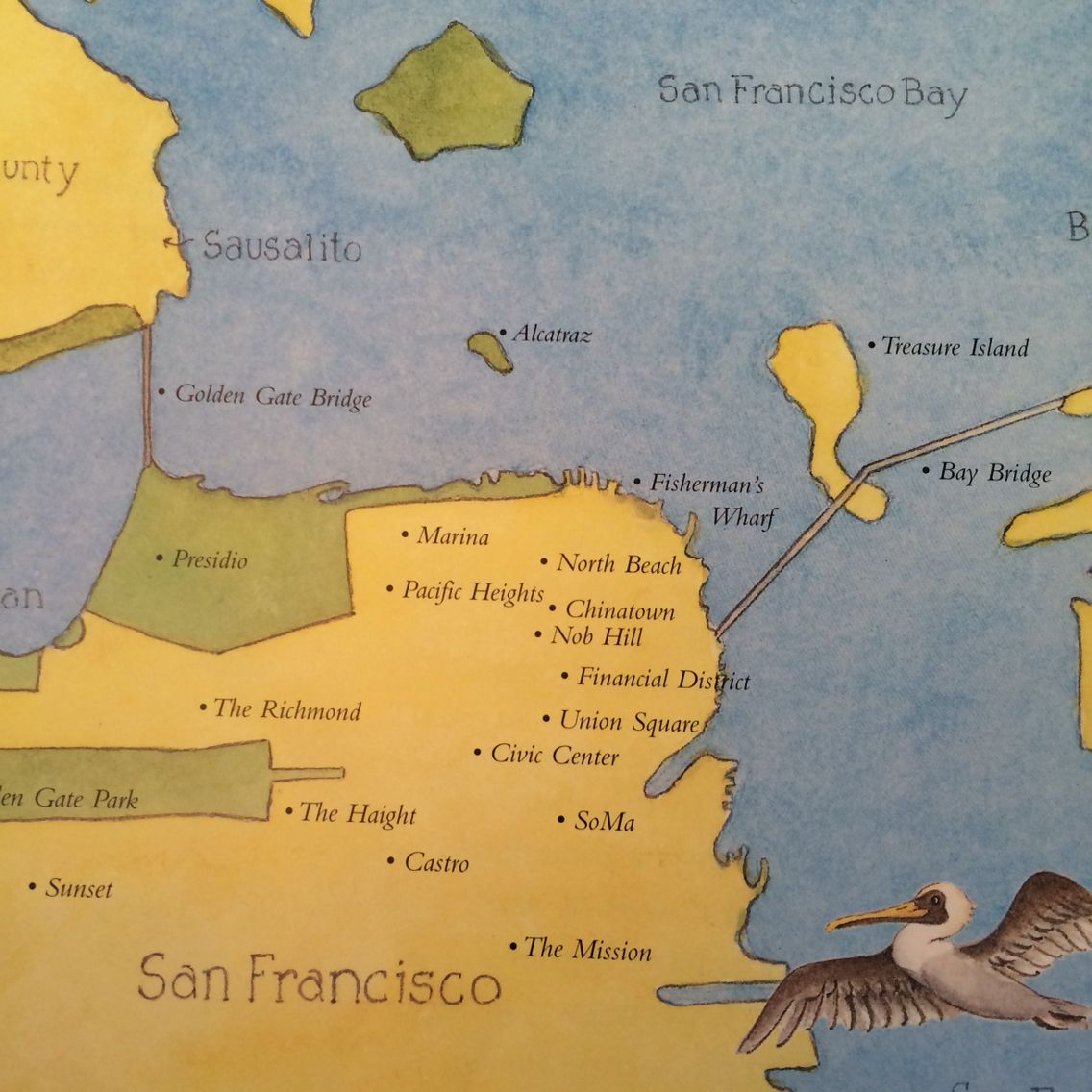 San Francisco Travel Map With this travel