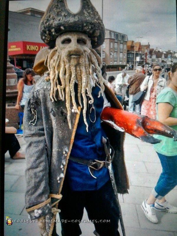 Davey Jones Dead Man\u0027s Chest Costume Costumes, Awesome costumes - homemade halloween costume ideas men