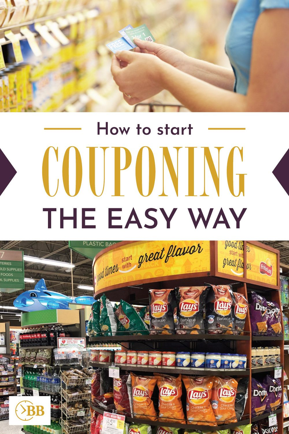 How to Start Couponing the Easy Way...