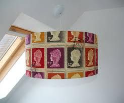 Funky Lampshades Google Search Fabric Lampshade Lamp Shades Fabric Stamping