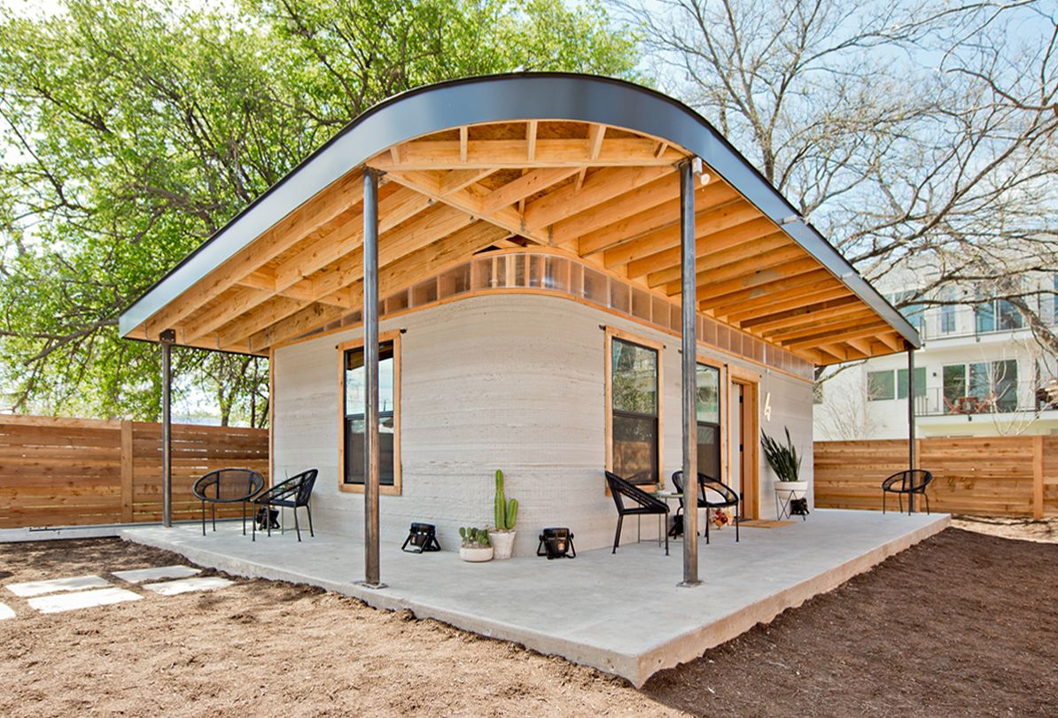 Gallery Of Could 3d Printing Be The Future Of Social Housing 1 Social Housing 3d Printed House Architecture