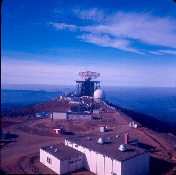 The bases radar covered the pacific coast line through 1970s.  Then was replaced with technology and all materials and housing was removed and the area was returned to nature.  On the top of the mountain now only stands phone and tv towers, a weather station with a camera which we use to check on the snow level.  The snow just isn't there like it was when I was little.  I remember the kids that lived up there being snowed in for weeks and not being able to get down for school!