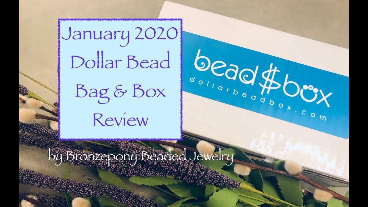 January 2020 Dollar Bead Bag/Box plus a Coupon Code!!!! in