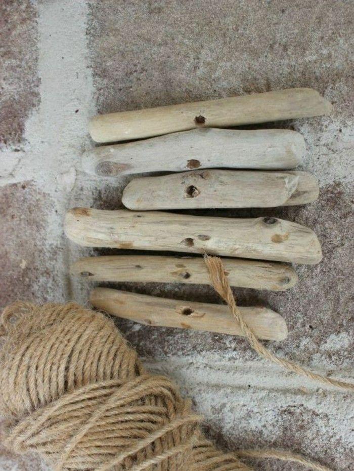 16 Treibholz Basteln Aeste Holz Seil Diy Dekoration Selber Machen
