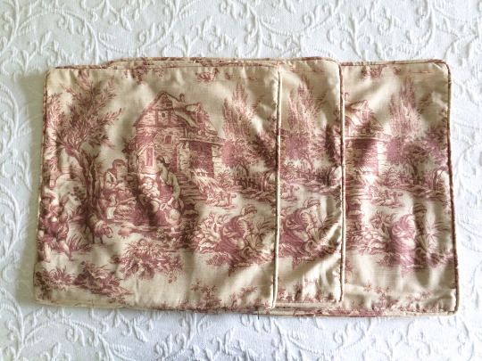 Vintage French Toile Pillow Covers, French Country linens, throw ...