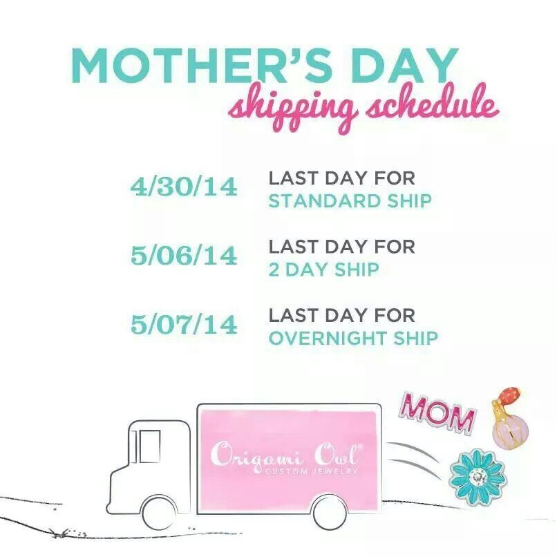 Don't forget to get your #MothersDay orders in #ASAP!  Rocking Lockets www.rockinglockets.com