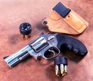 Smith & Wesson Model 60-15 with holster