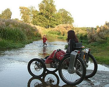 & BOMA Off-Road Wheelchair