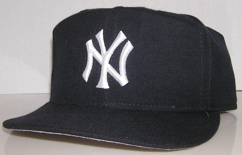 5ef025e2 New York Yankees MLB Diamond 100% Wool New Era Pro Model Fitted Hat ...