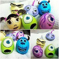Monsters Inc Easter Eggs