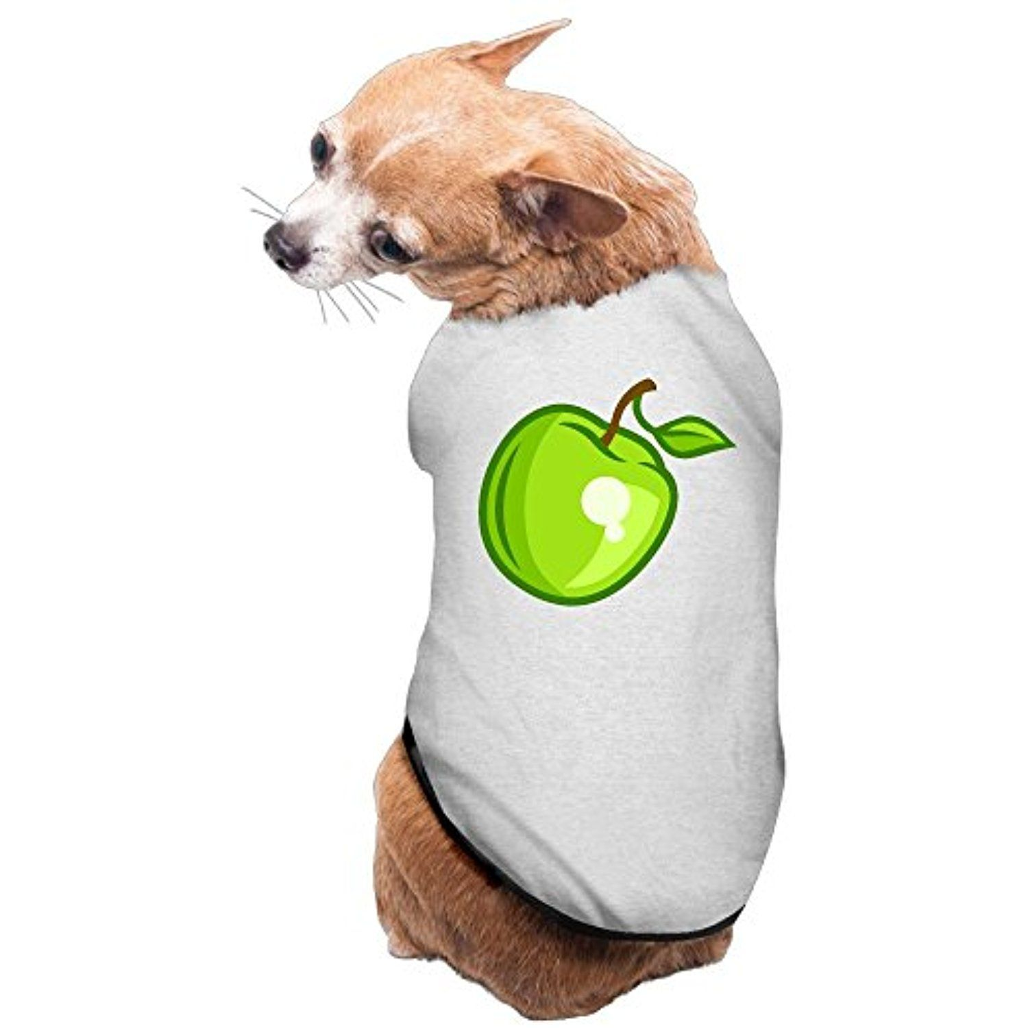 Apple Dog Shirt Clothes For Pet Puppy Tee Shirts Dogs Costumes Cat