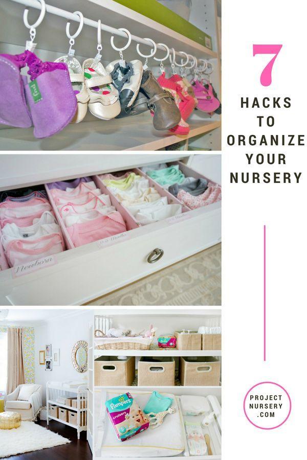 Organize Your Nursery Like A Boss Project Nursery Baby Room Organization Baby Nursery Organization Baby Organization