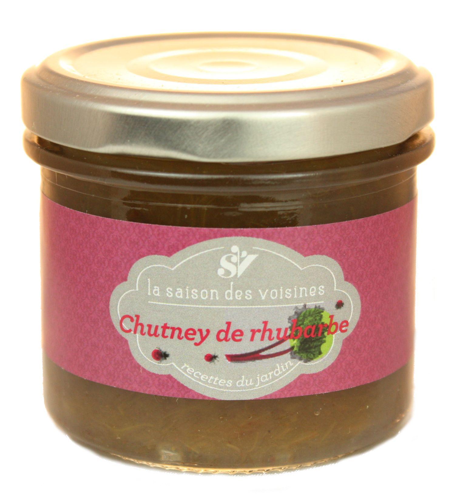 Chutney de Rhubarbe