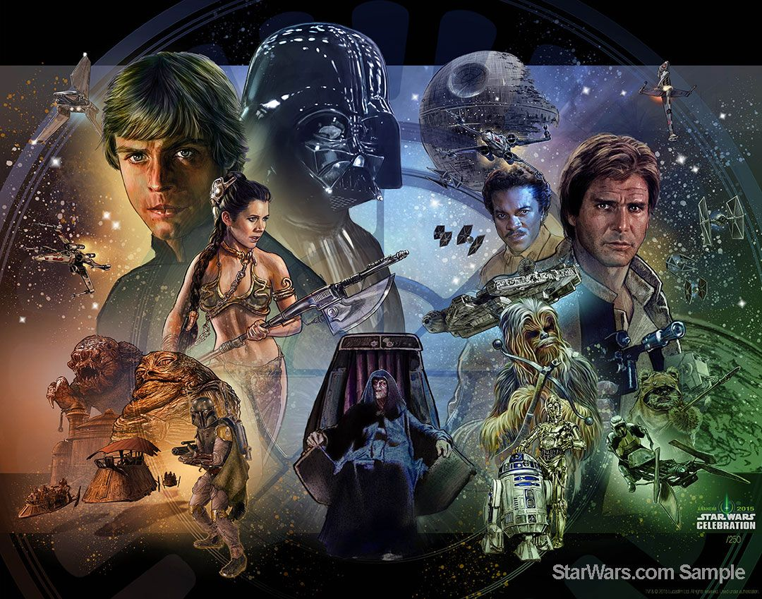J J Abrams And Kathleen Kennedy To Kick Off Star Wars Celebration Starwars Com Star Wars Art Star Wars Wallpaper Classic Star Wars