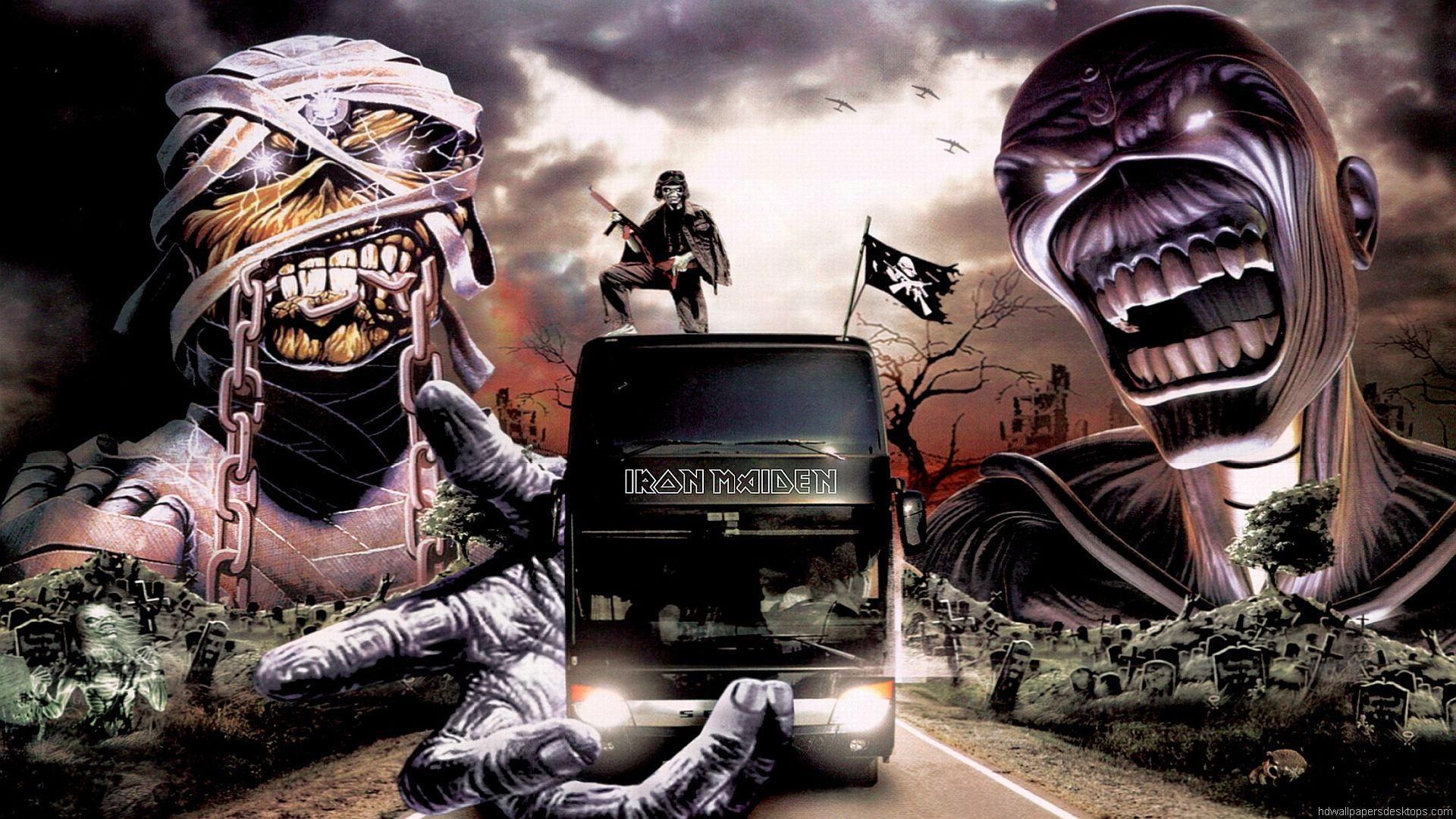 Iron Maiden Wallpaper Iron Maiden Hd Wallpaper Background
