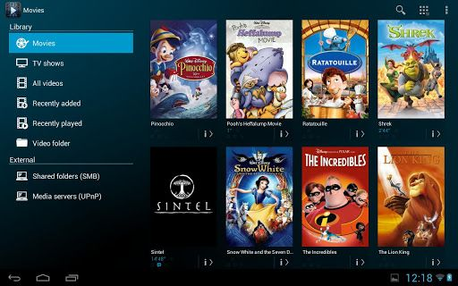 Free video player for android tablet