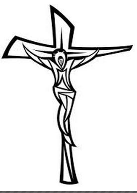 Jesus And The Cross Image Free Vector Cruz De Cristo Tatuaje De Cristo Tatuaje De Crucifijo