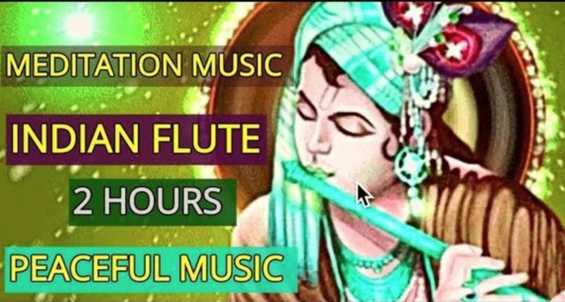 Indian Meditation Music /Lord Krishna Flute/RELAX MIND BODY
