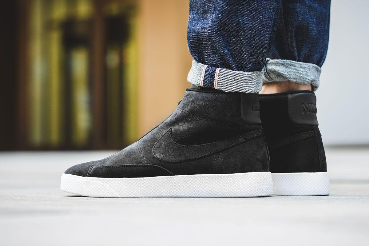 wholesale dealer f4dde 84842 Blazer Advanced  Nike Adds a Zipper to the Retro Sneaker - EU Kicks   Sneaker…