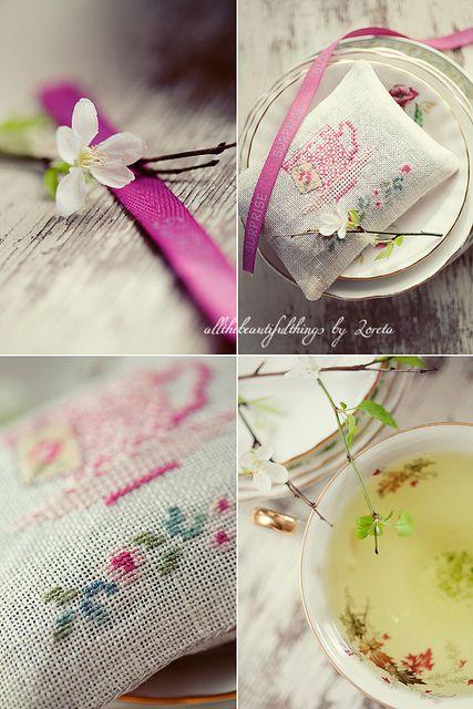 Tea Time (Veronique Enginger) by loretoidas, via Flickr
