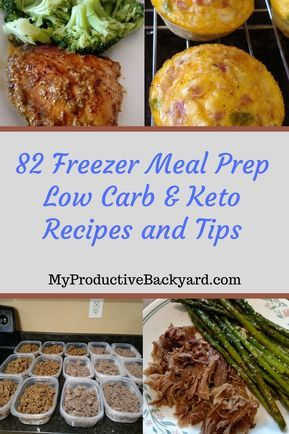 82 Freezer Meal Prep Low Carb Keto Tips and Recipes images