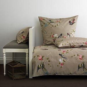 Bettwäsche Mit Vogel Dessin Bettwäsche Bed Sheets Linen Bedding