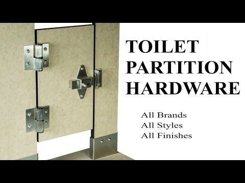 Inexpensive Hardware Replacement Toilet Partition Hardware