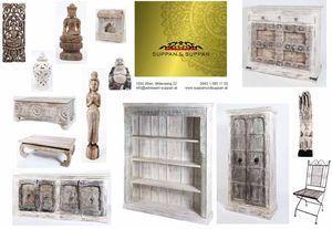 weiße indische Möbel von Suppan & Suppan Wien #indischemöbel weiße indische Möbel von Suppan & Suppan Wien #indischemöbel