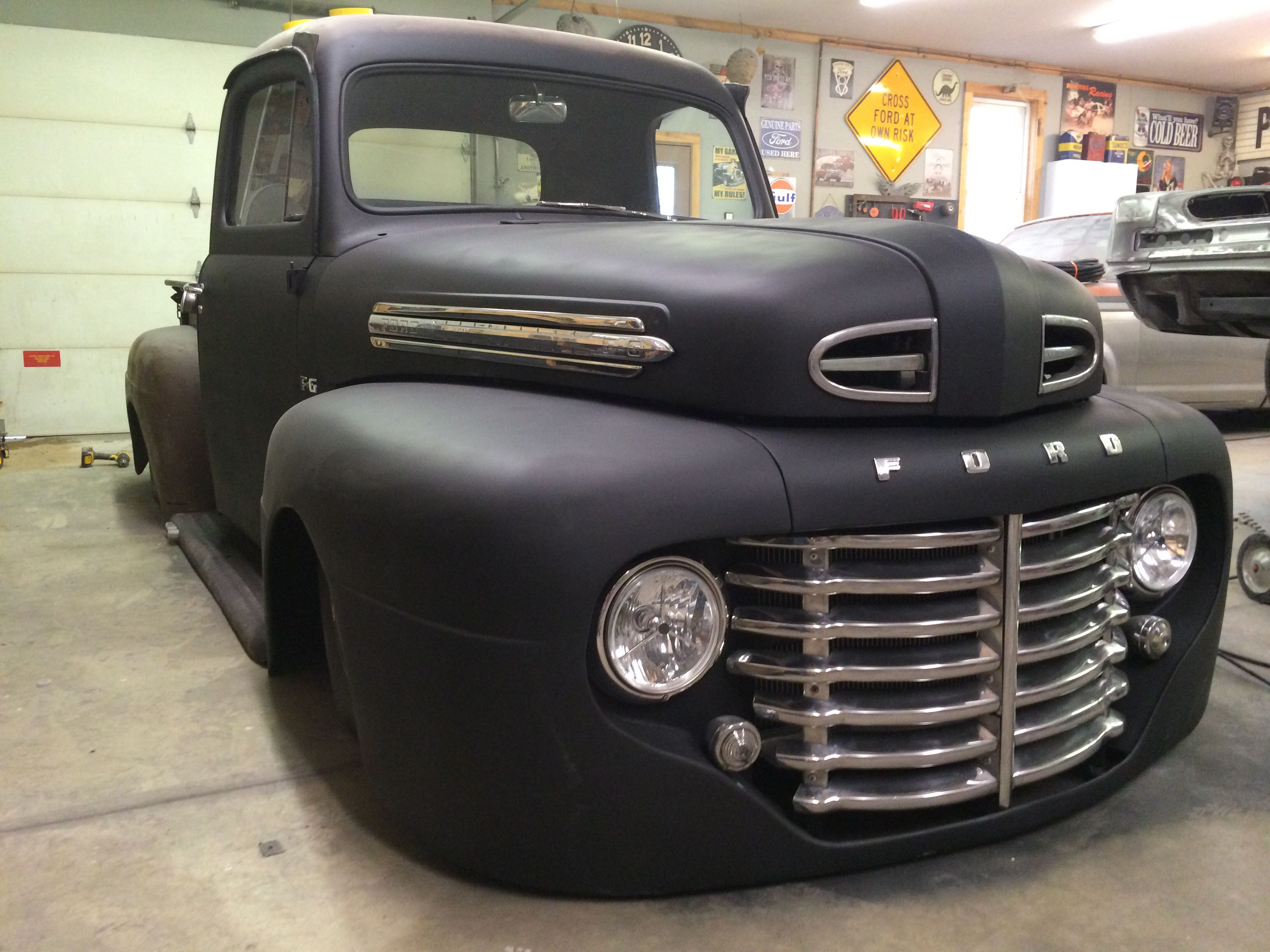 1949 Ford F6 Maintenance Restoration Of Old Vintage Vehicles The Material For New Cogs Casters Gears Pads C Classic Chevy Trucks Custom Trucks 1952 Ford Truck
