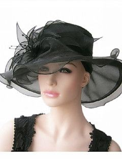 Women Organza Hats With Wedding Party Headpiece Get Awesome S Up To 70 Off At Light In The Box Using Coupons