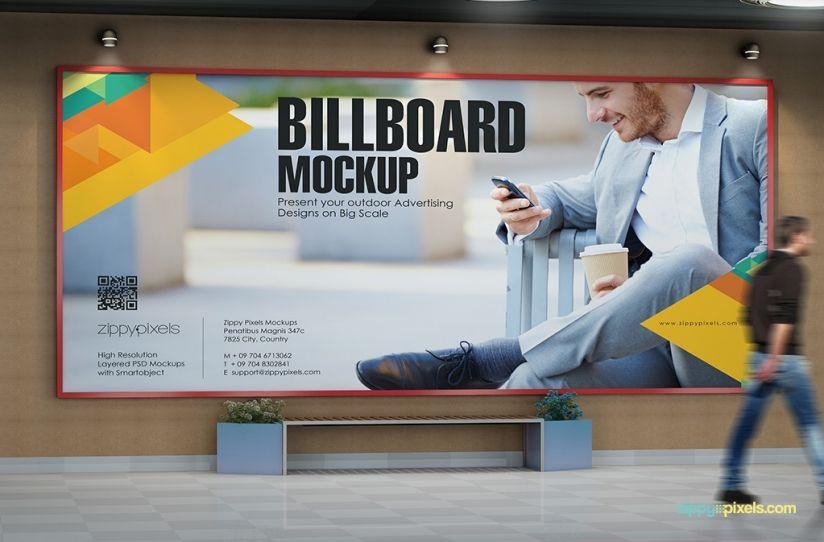 11 Practical Outdoor Mockup Psds For Advertising Zippypixels Outdoor Advertising Mockup Outdoor Advertising Billboard Mockup