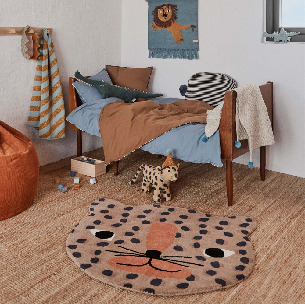 Oyoy Kids Floor Rug Leopard Kids Rugs Floor Rugs Kids Rooms Inspo