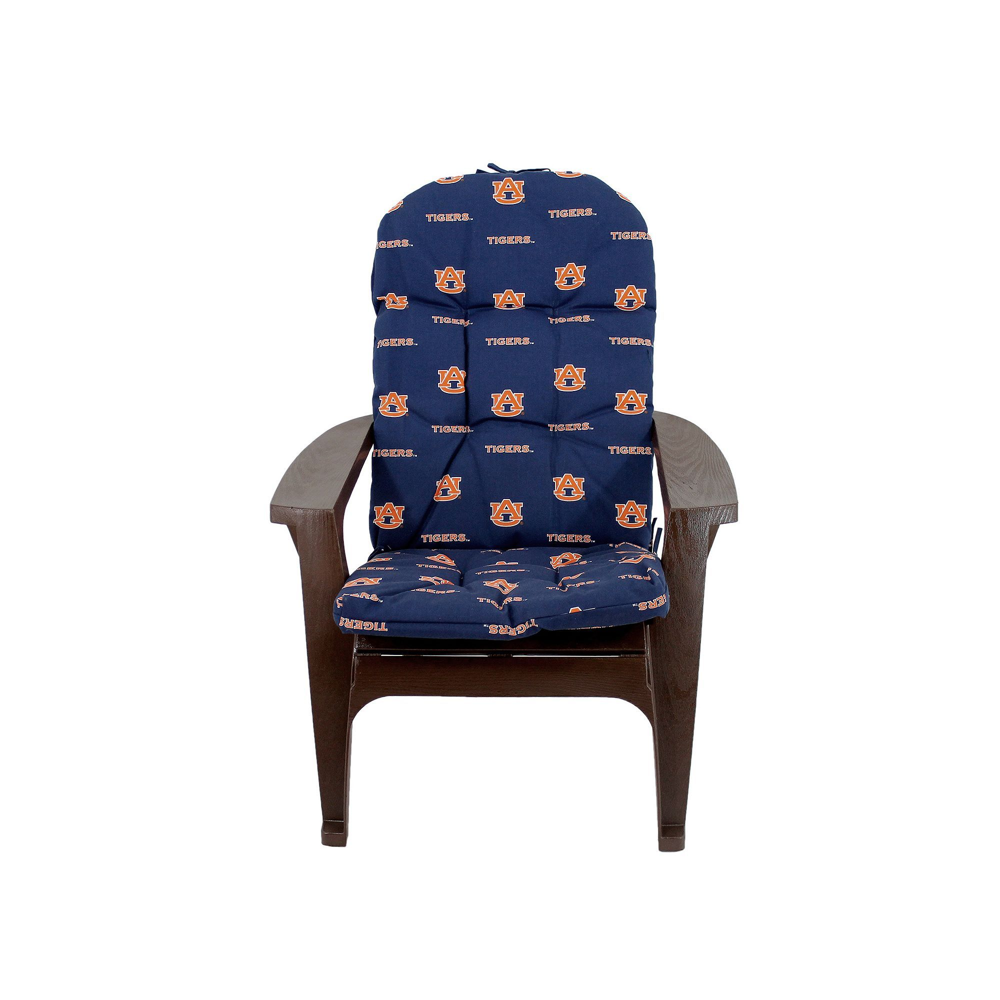 Fantastic Auburn Tigers Adirondack Chair Cushion Products Home Remodeling Inspirations Genioncuboardxyz