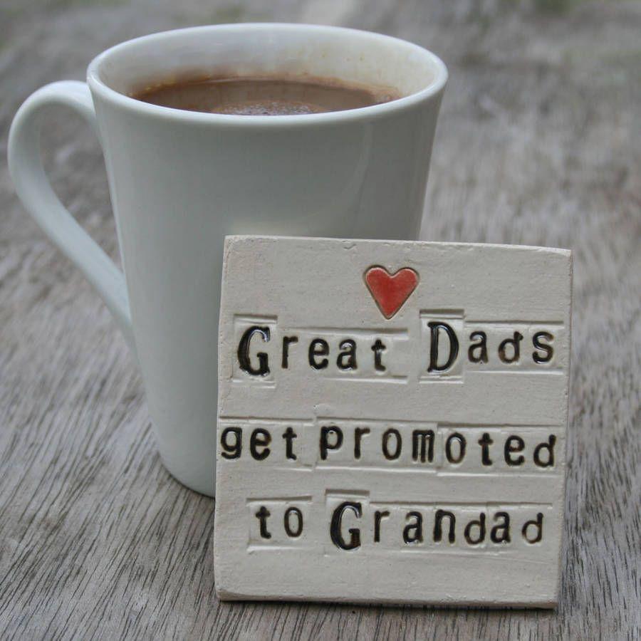 Grandparent ceramic coaster ceramic coasters grandparents and