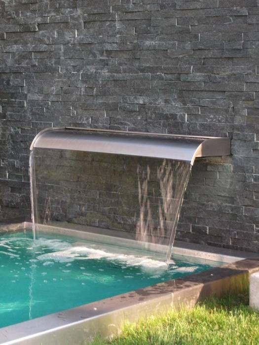 Pool Für Den Garten wasserfallbrunnen für den garten den pool den teich individuell