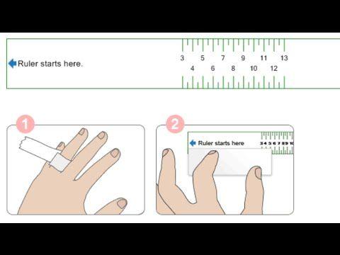 كيف تحددي مقياس الخاتم المناسب لأصابعك طرق قياس الخواتم والأصابع كيف تحددي مقياس الخاتم المناسب لأصابعك طرق قي Measure Ring Size Ring Size Ring Sizes Chart