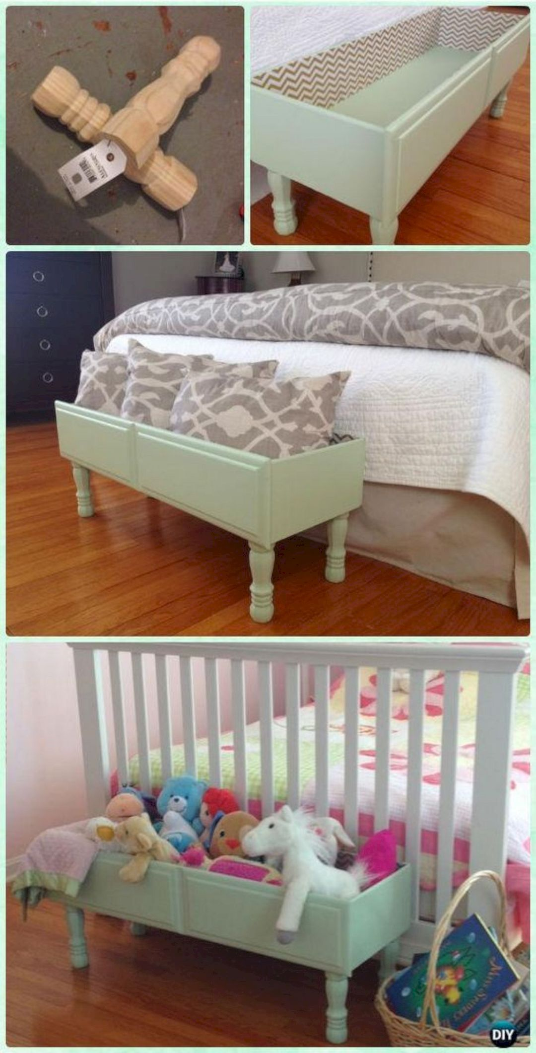 15 Outstanding DIY Repurposed Furniture Ideas