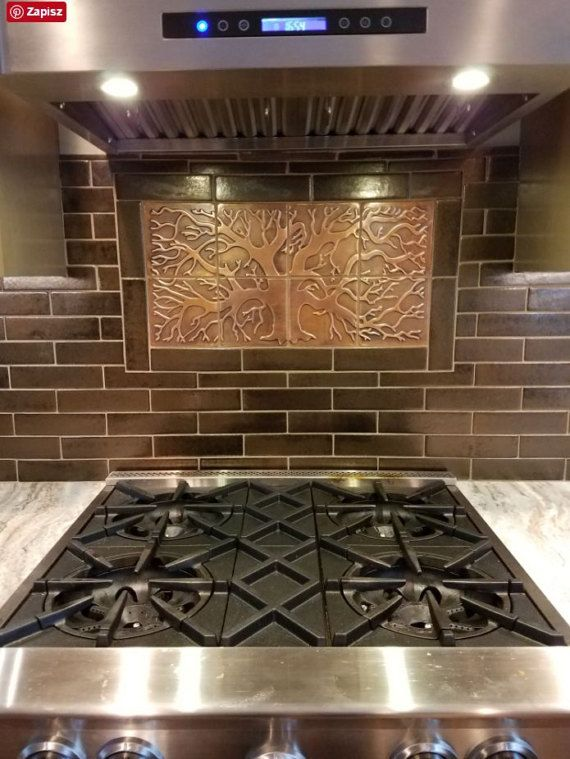 Copper Tiles Kitchen Backsplash 8 Metal Tiles Kitchen Backsplash Metal Tile Backsplash