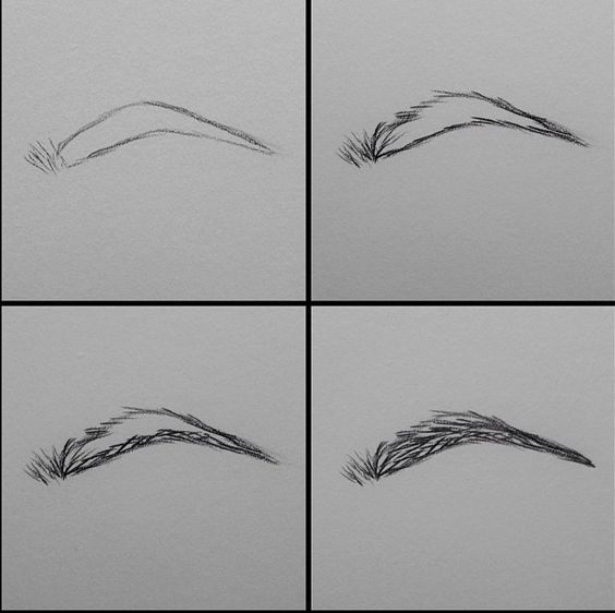 Learn How To Draw Eyebrows That Look Real And Really Good Bored Art How To Draw Eyebrows Drawings Realistic Drawings