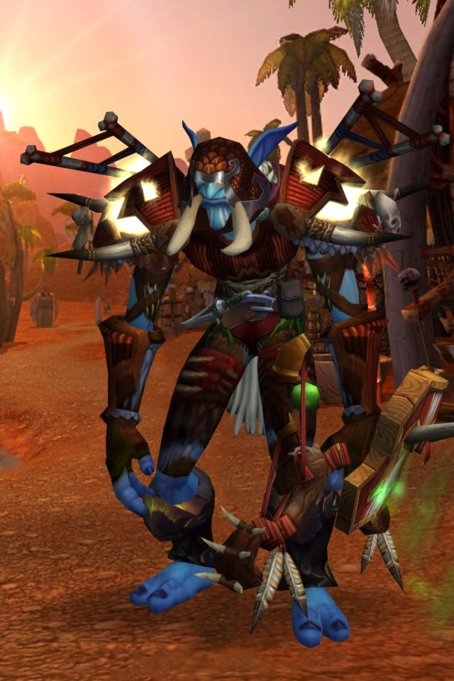 Troll Hunter Transmog Transmog World Of Warcraft World